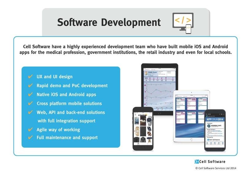 Diseño de presentación de empresa para Power Point e impreso - Cell Software 2