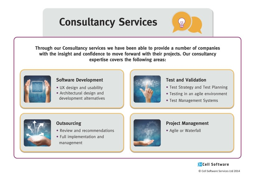 Diseño de presentación de empresa para Power Point e impreso - Cell Software 5
