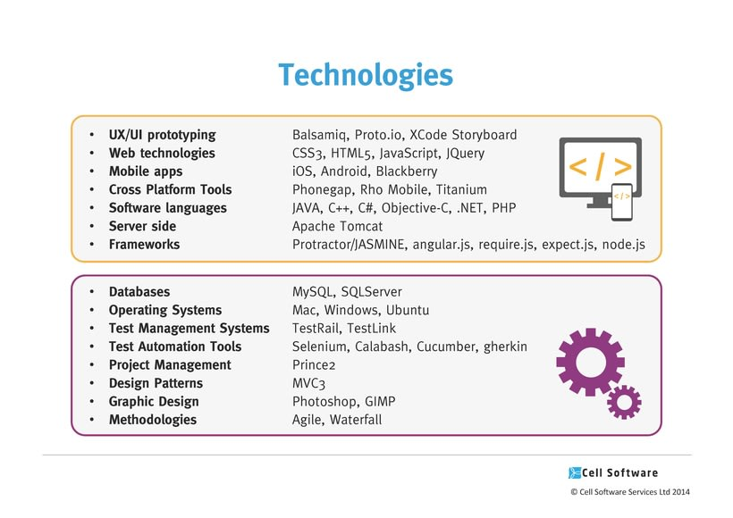 Diseño de presentación de empresa para Power Point e impreso - Cell Software 6