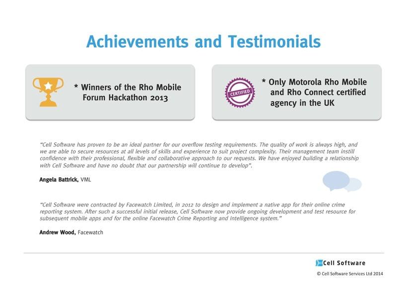 Diseño de presentación de empresa para Power Point e impreso - Cell Software 8