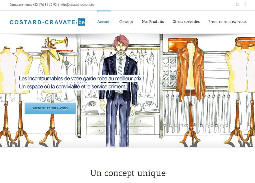 Costard Cravate website -1