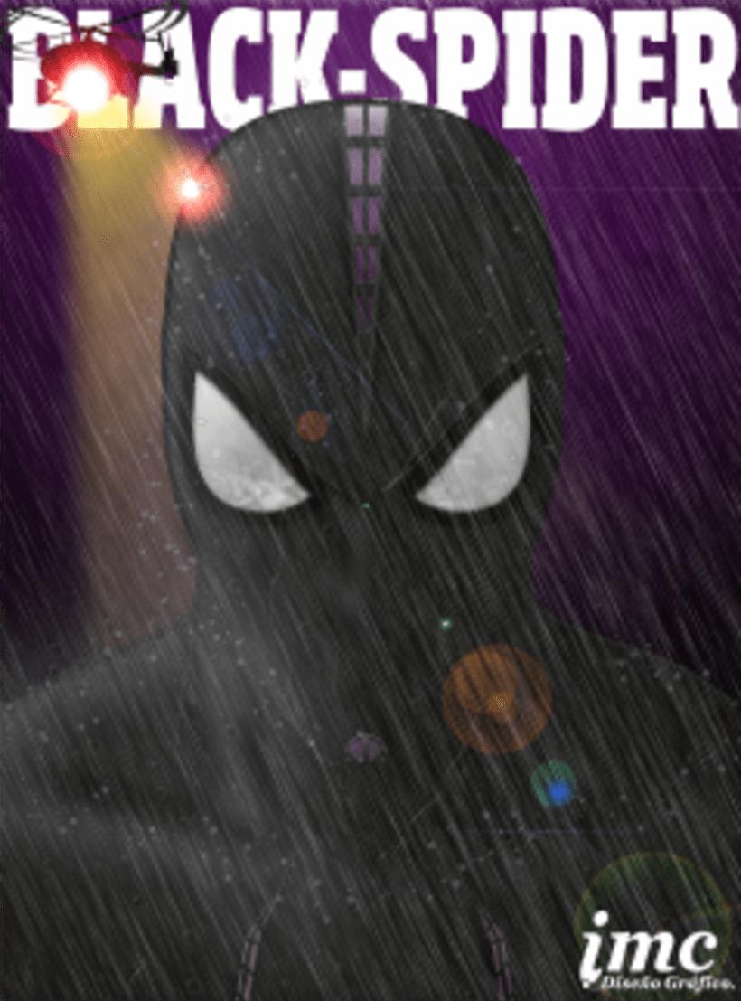SPIDER MAN- ILLUSTRACION DIGITAL 0