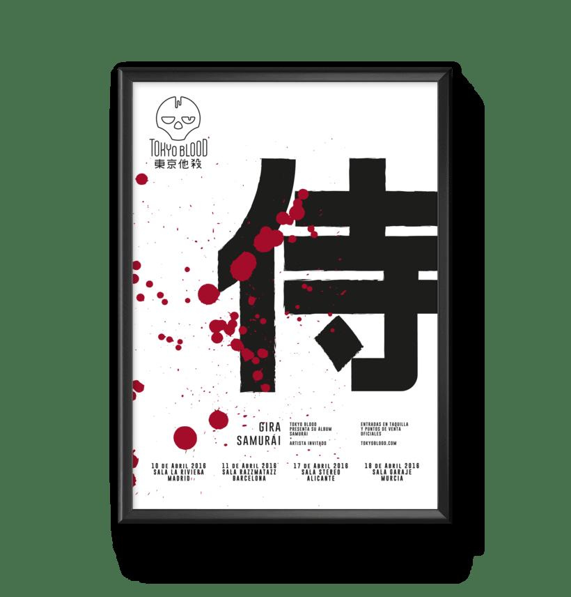 Tokyo Blood, Identidad visual 1