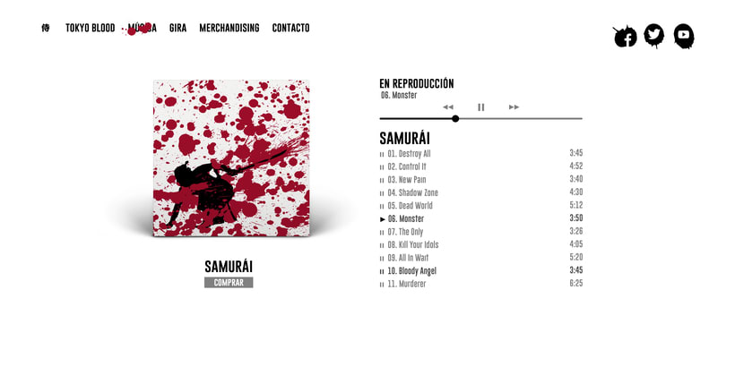 Tokyo Blood, Identidad visual 6