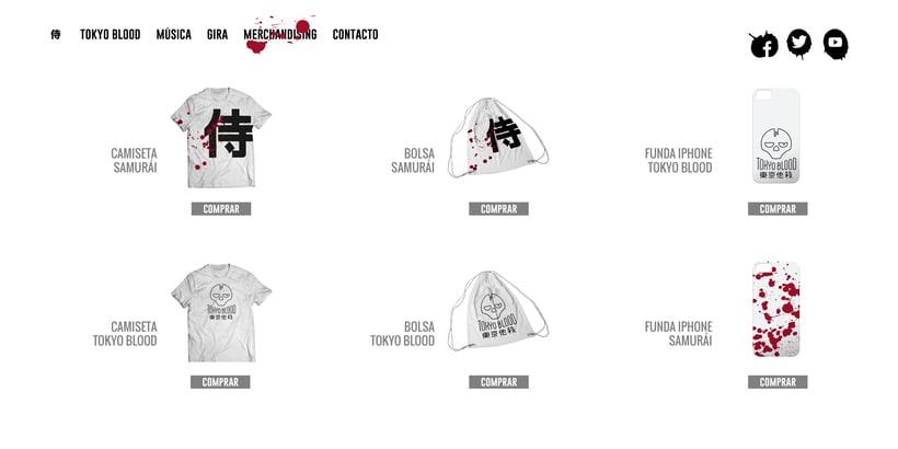 Tokyo Blood, Identidad visual 8