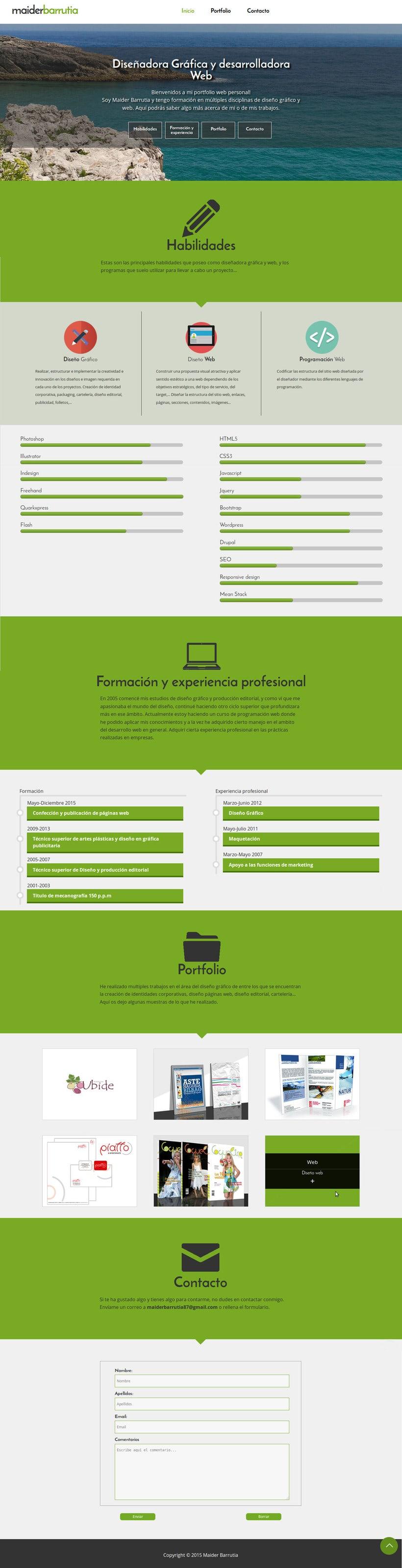 Portfolio web personal -1