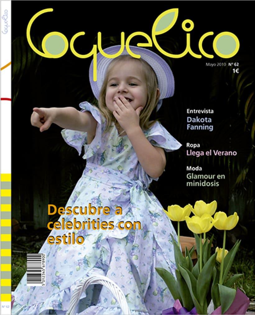 Diseño portada revista Coquelico -1