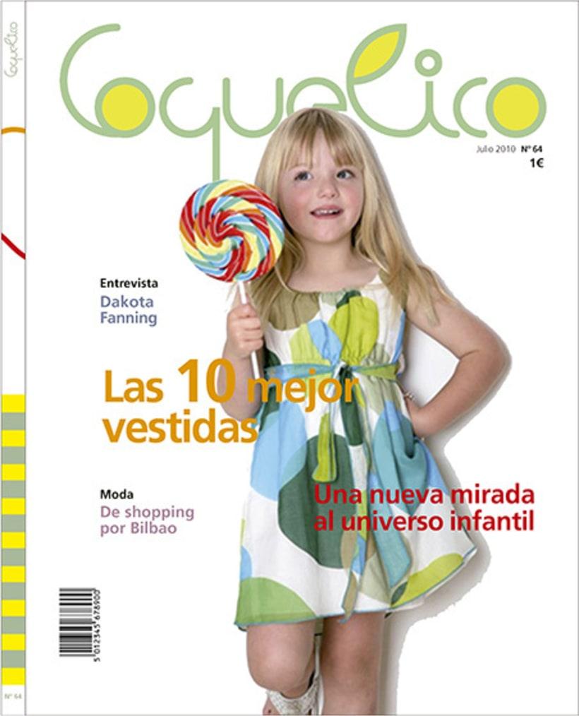 Diseño portada revista Coquelico 1