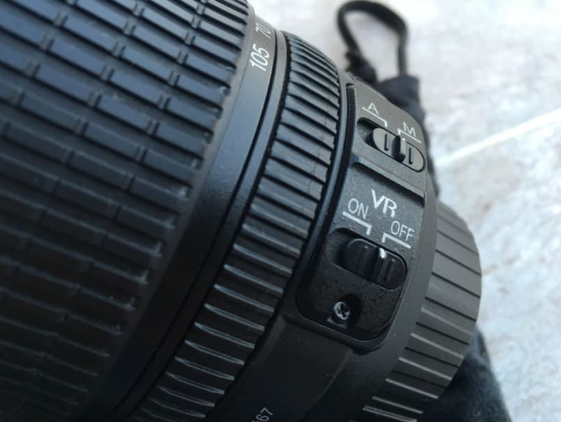 Vendo AF-S DX NIKKOR 18-105MM F/3.5-5.6G ED VR 2