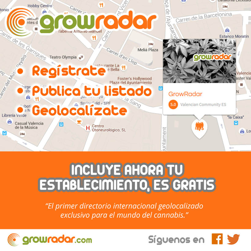 Growradar.com - Directorio de grow shops -1