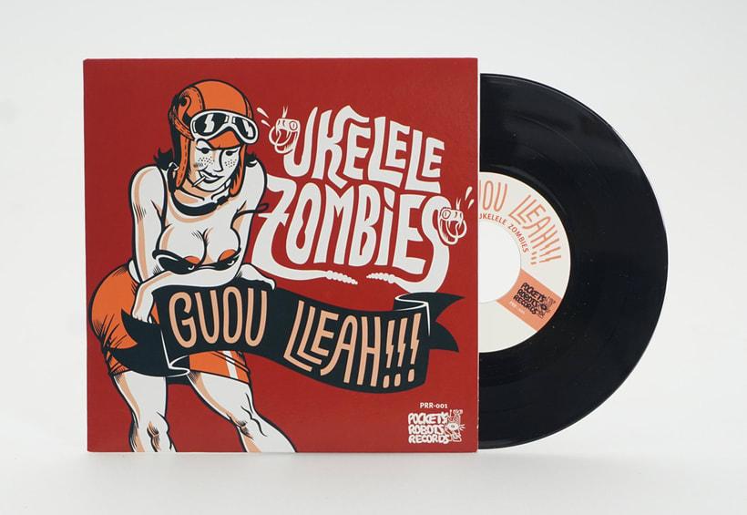 """Ukelele Zombies - """"GUOU LLEAH!!!"""" EP 2"""