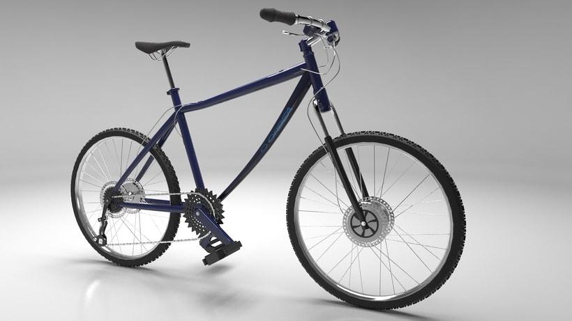 Bicicleta y auriculares 1