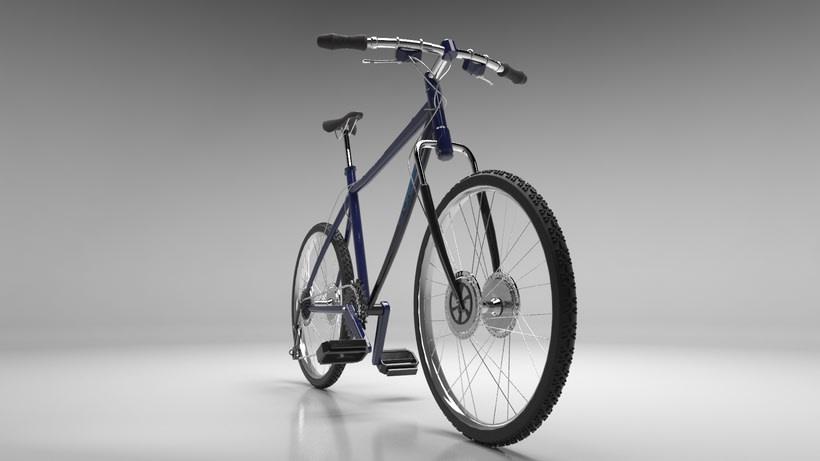 Bicicleta y auriculares 2