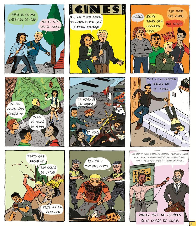 """Mi Proyecto del curso """"El cómic es otra historia"""": Cosas de críos 0"""