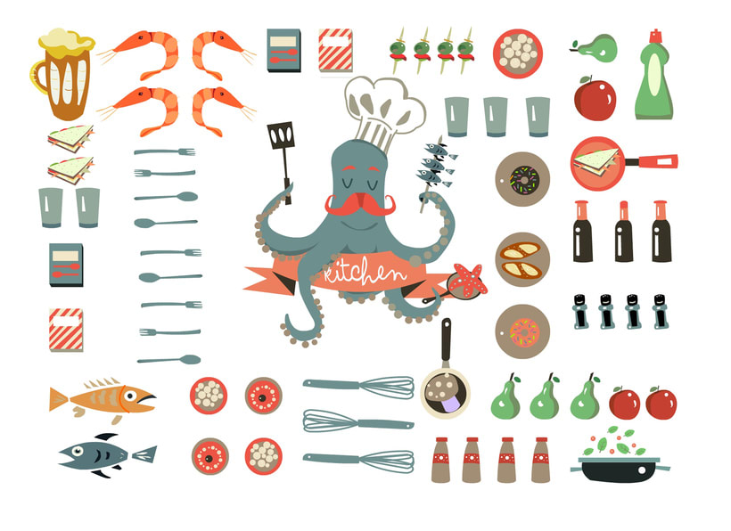 Octopus cooking 1