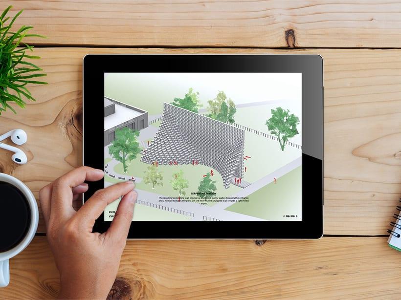 Aplicación Serpentine Pavilion 0