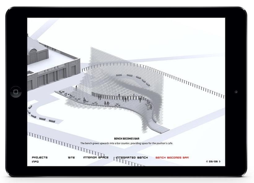 Aplicación Serpentine Pavilion 1