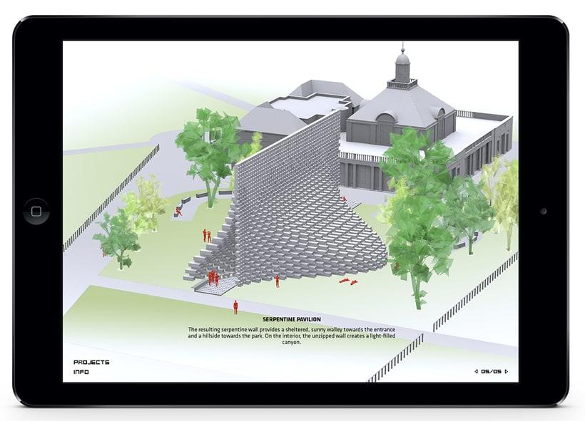 Aplicación Serpentine Pavilion 6