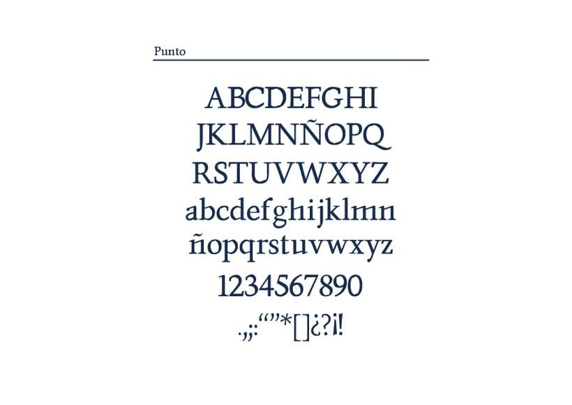 Tipografía Punto 16