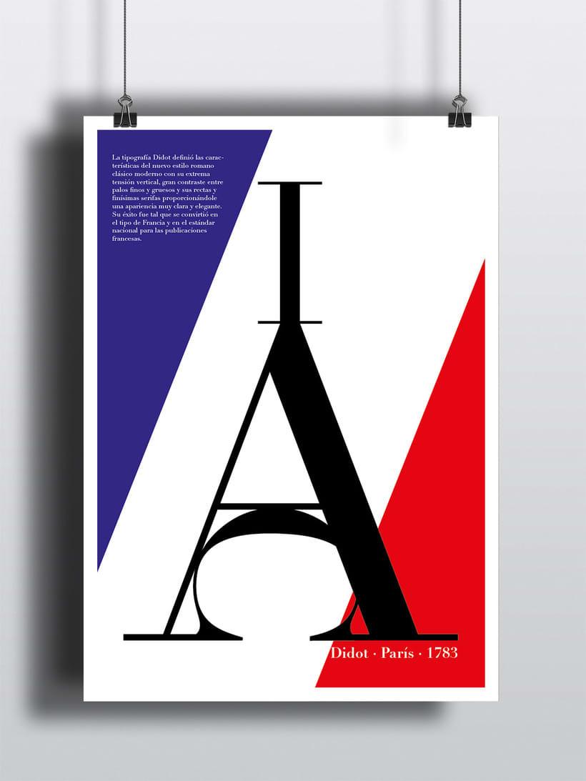 Cartel tipográfico de Didot 0