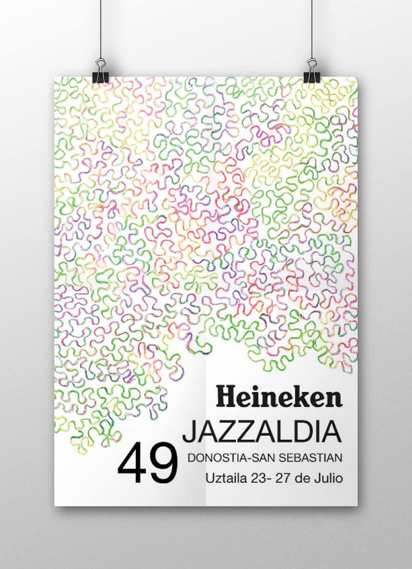 Cartel Heineken Jazzaldía 0