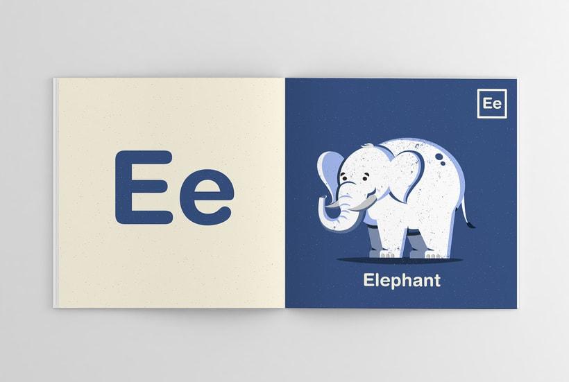 Alfabeto Animal 5