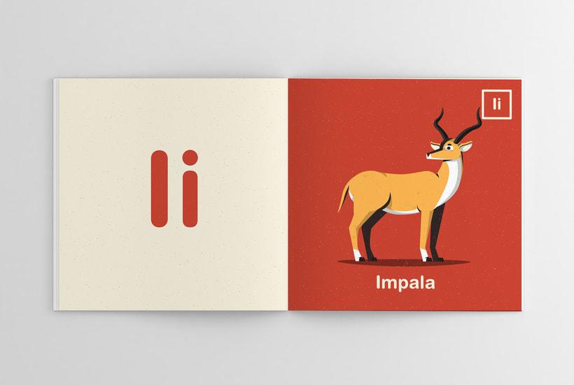 Alfabeto Animal 9