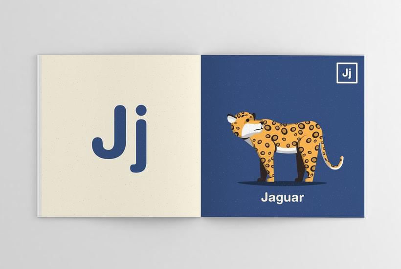 Alfabeto Animal 10