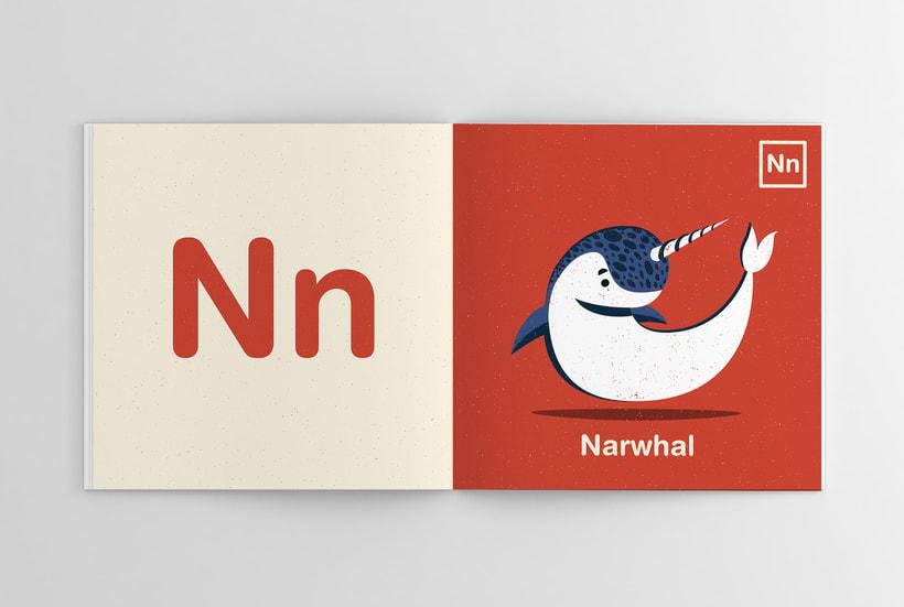 Alfabeto Animal 14