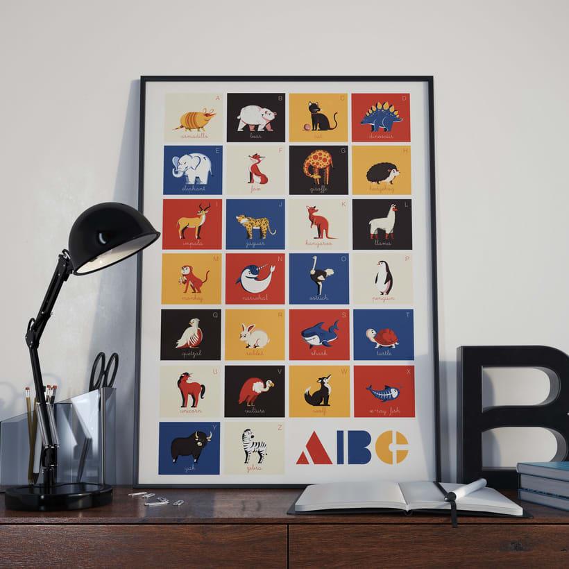 Alfabeto Animal 25