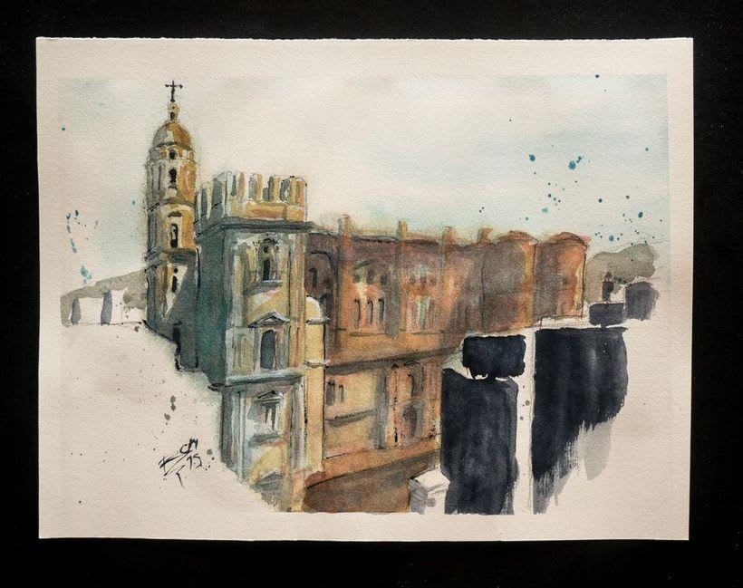 Urban Sketching 1
