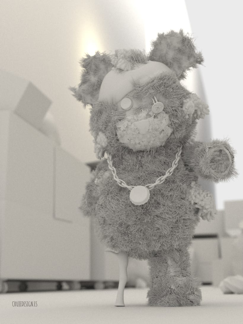 Teddy's Revenge -Blender 3D- 1