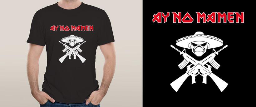 Diseños de camisetas 3