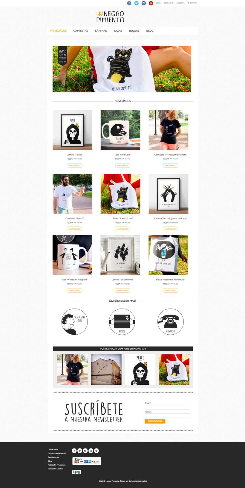 Negro Pimienta: Tienda online de regalos con diseño 0