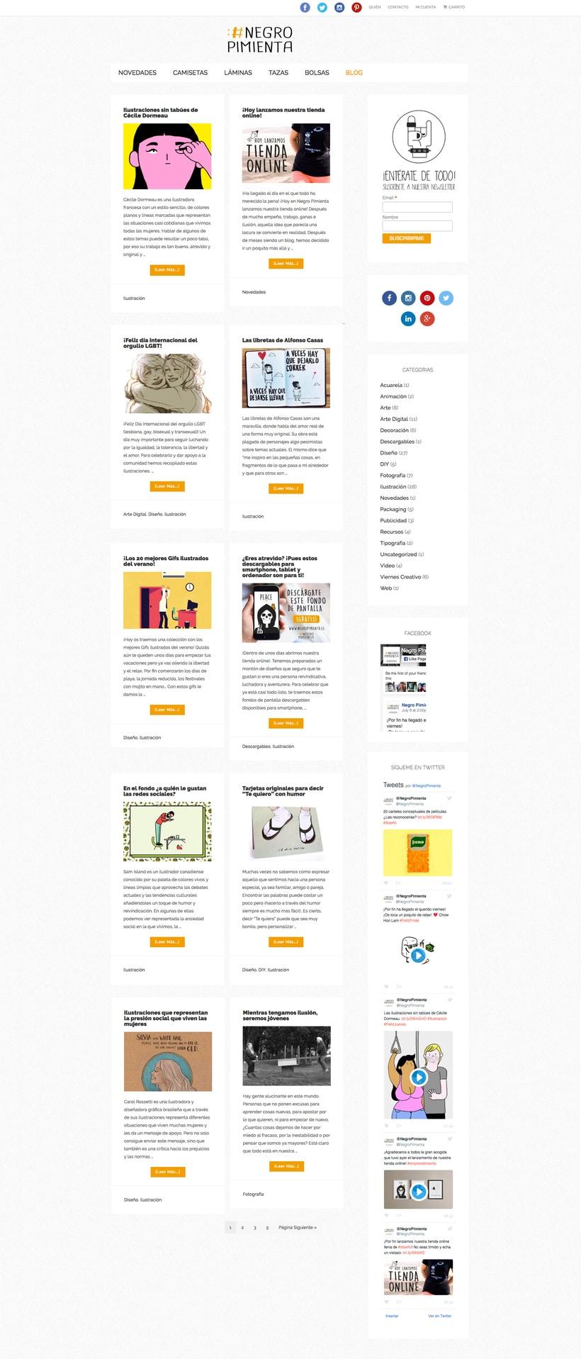 Negro Pimienta: Tienda online de regalos con diseño 3