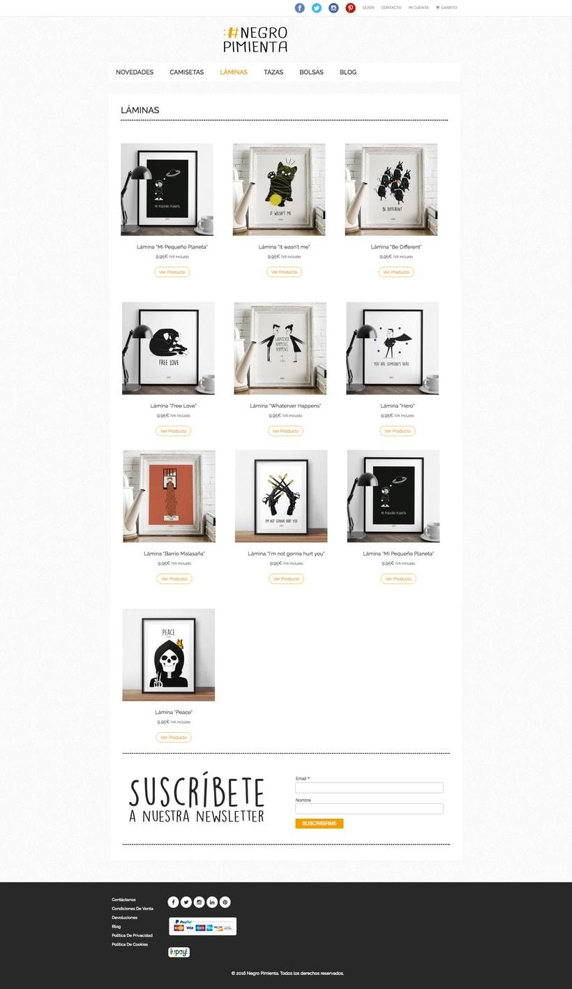 Negro Pimienta: Tienda online de regalos con diseño 2