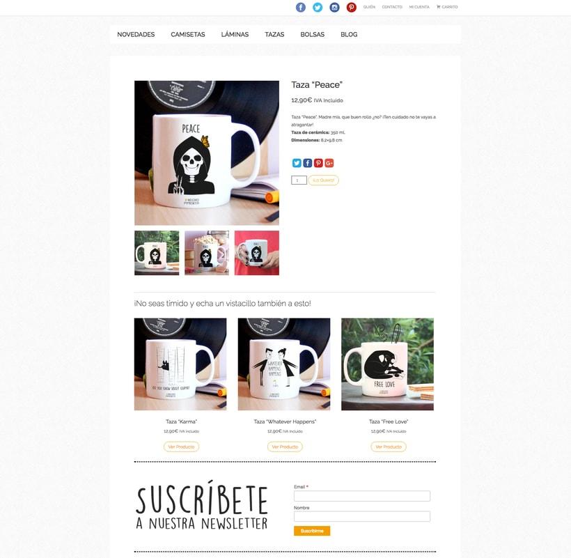 Negro Pimienta: Tienda online de regalos con diseño 1