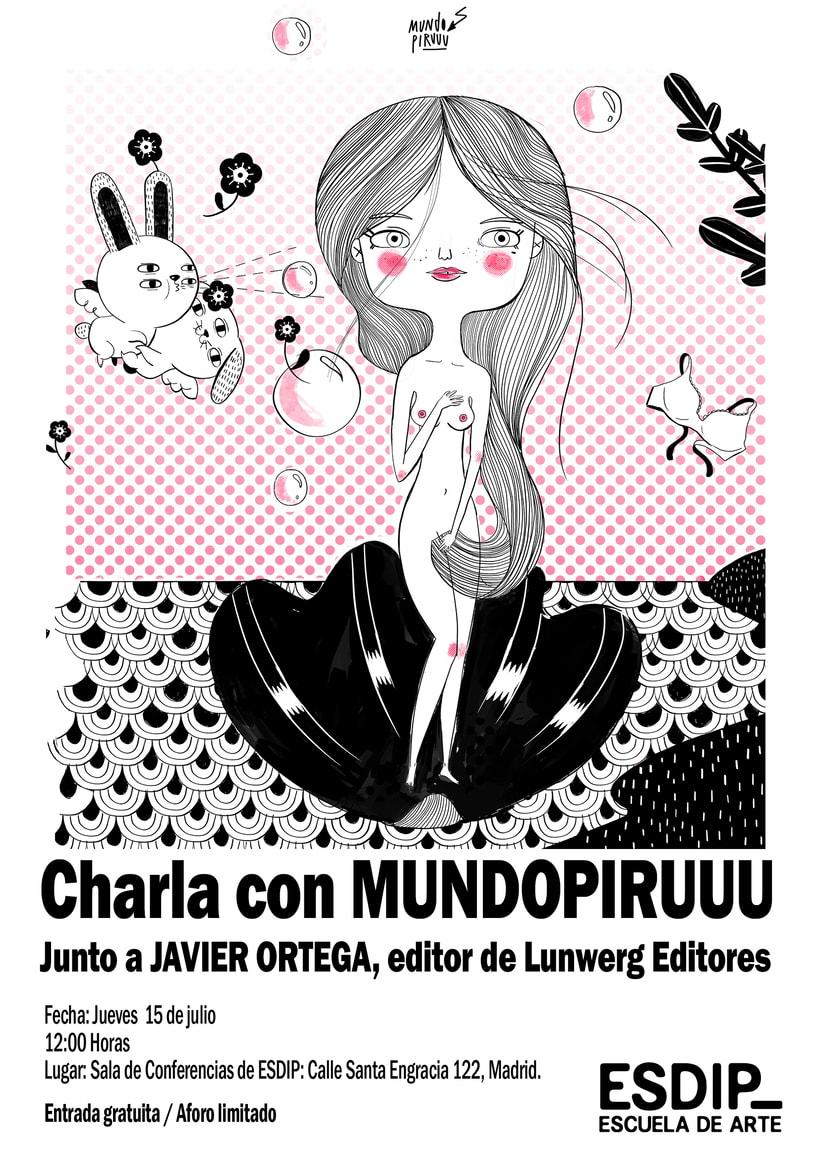 Conferencia gratuita con el ilustrador Mundopiruuu 1