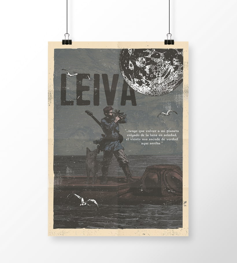Música ilustrada: LEIVA  - Los cantantes 0