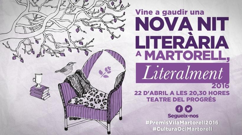 Certamen literario Premios Vila de Martorell (Barcelona)  3