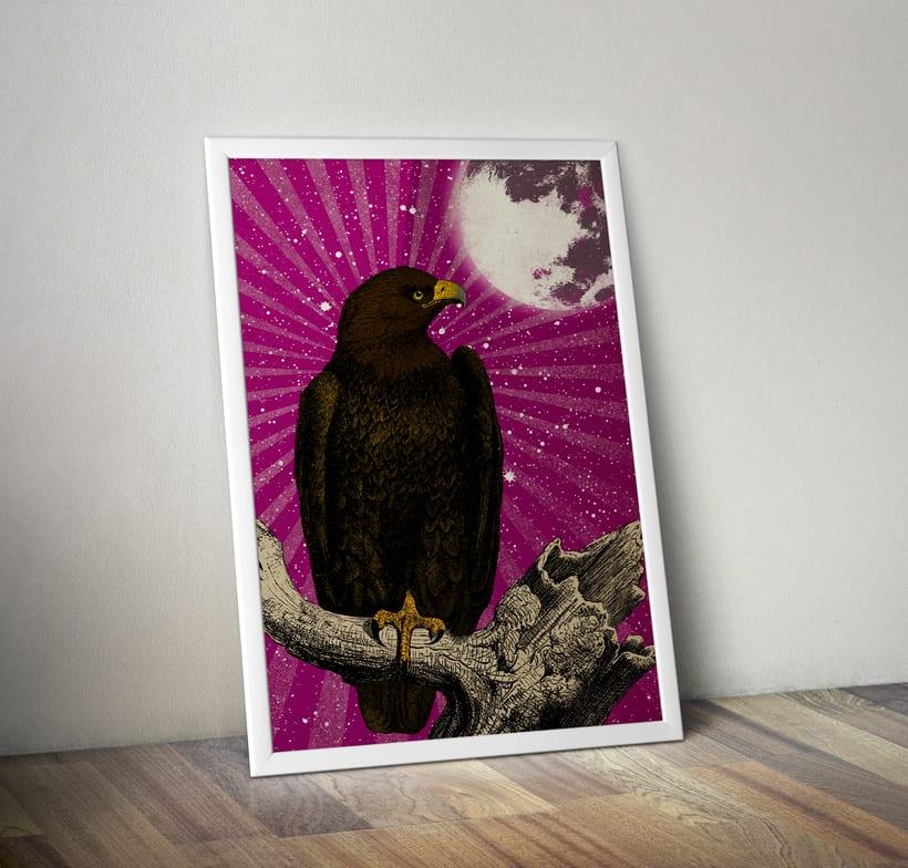 Águila Dorada. Cartelismo ilustrado -1