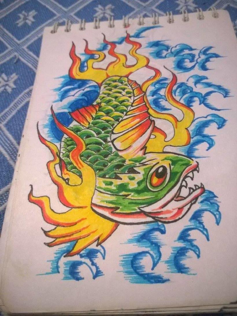 Trucha Infernal (Mi primer gran tatuaje) 4