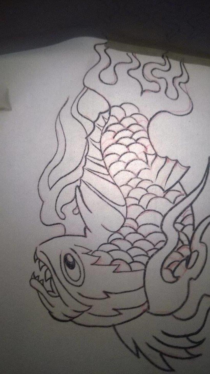 Trucha Infernal (Mi primer gran tatuaje) 5