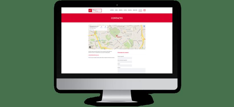 Diseño web para la Alianza Francesa Oviedo 8