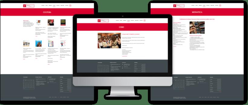 Diseño web para la Alianza Francesa Oviedo 6