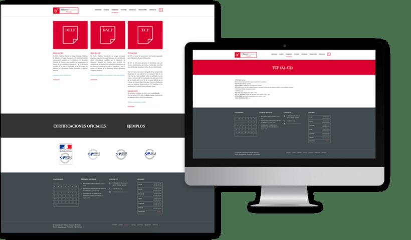 Diseño web para la Alianza Francesa Oviedo 5