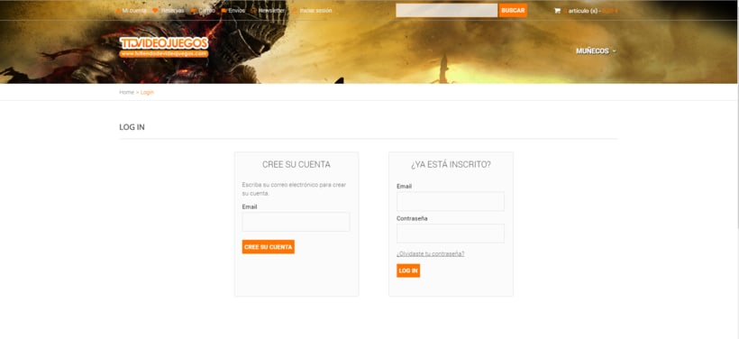 Rediseño de formulario de usuario (login registration) 0