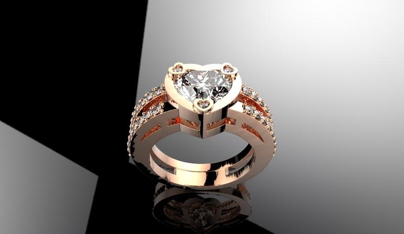 heart ring -1
