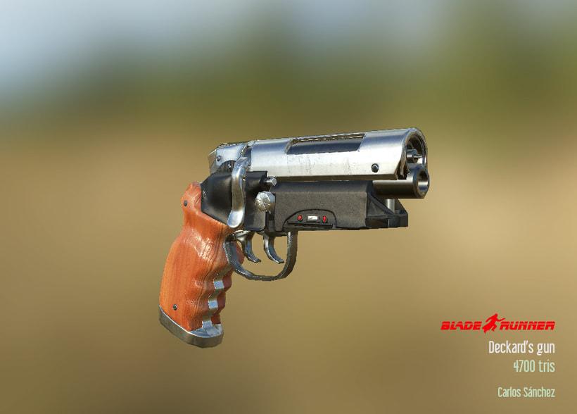 Blade Runner - Deckard's gun 1