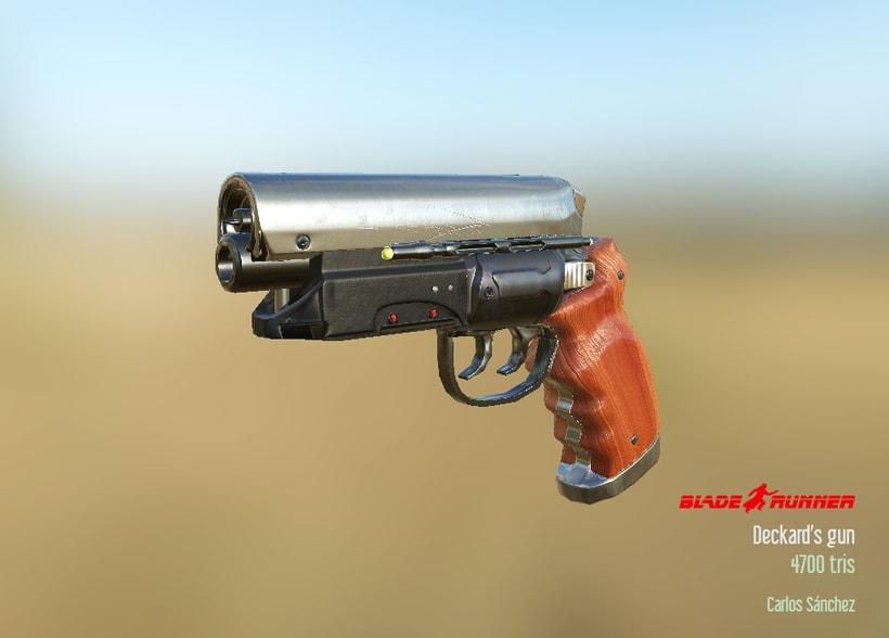 Blade Runner - Deckard's gun 2